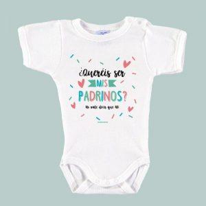 Body Bebé Padrinos ¿Queréis ser mis Padrinos?