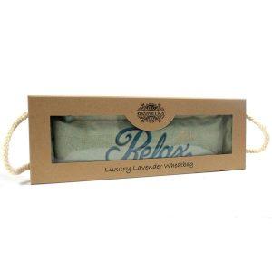 Bolsa de trigo en caja de regalo - Relax Celeste