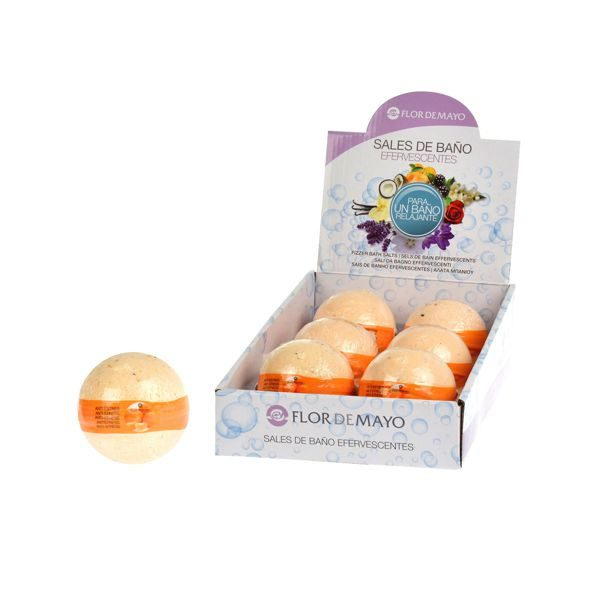 Bomba Sal Efervescente Mandarina